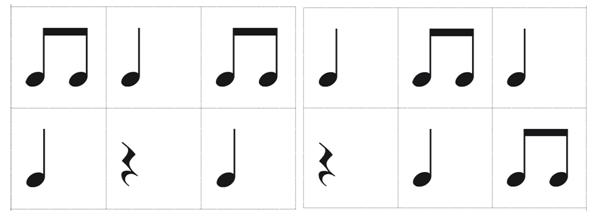 Beitrag Musiktheorie Notenkärtchen