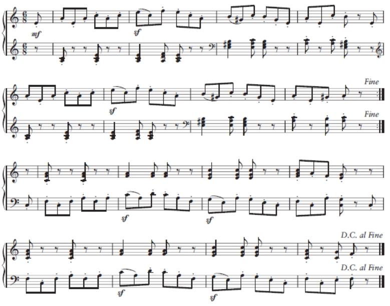 Beitrag Musiktheorie Wilder Reiter