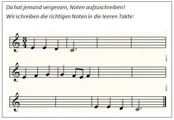 Beitrag Musiktheorie Winter ade Impuls 1