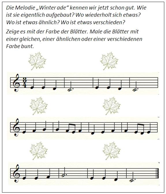 Beitrag Musiktheorie Winter ade Impuls 2
