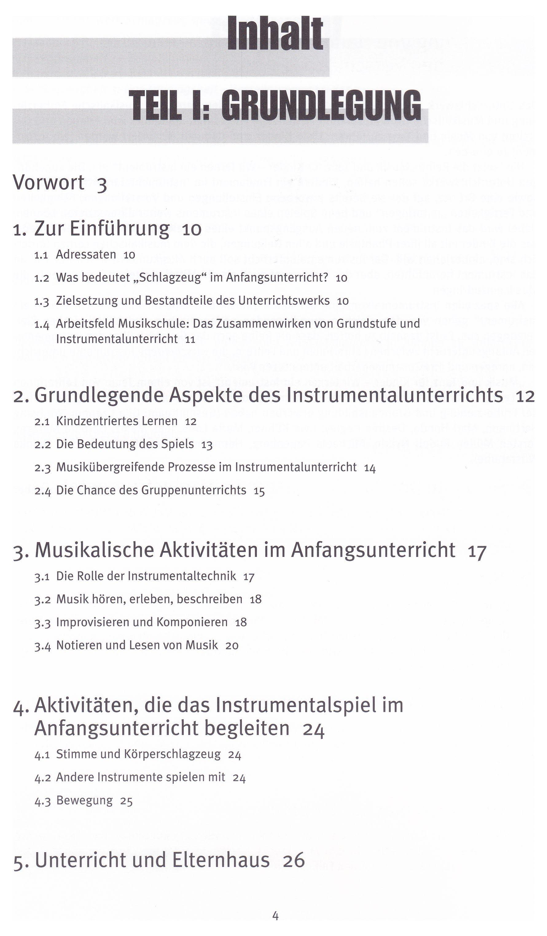 Handbuch Schlagzeug 1